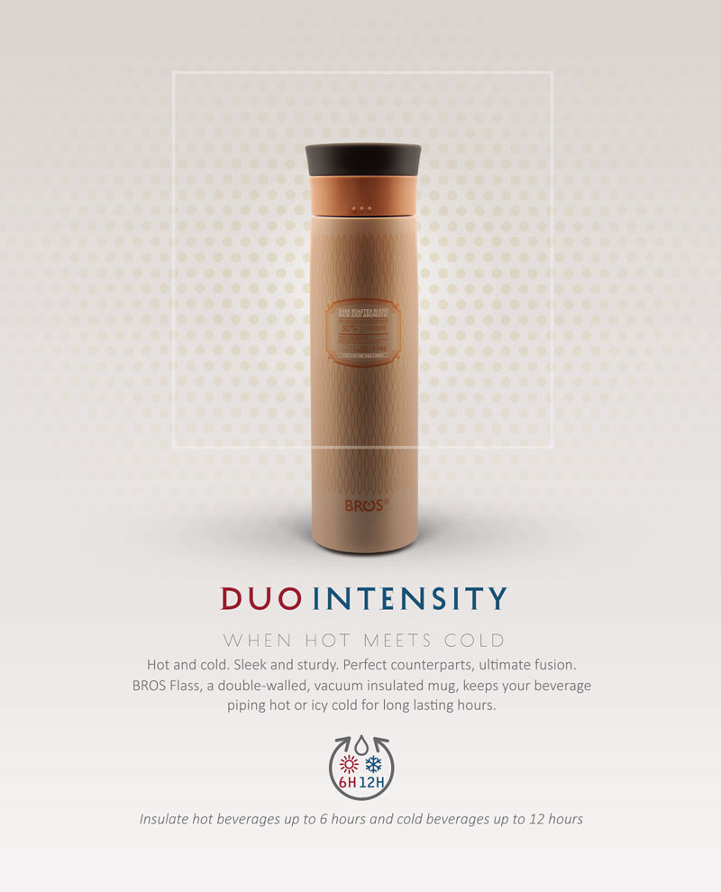 BROS New In - BROS Flass | Duo Intensity