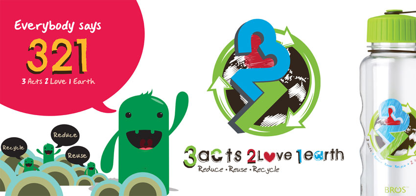 BROS Events- 321 – 3 Acts 2 Love 1 Earth