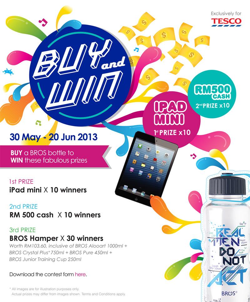 BROS Events- Buy & Win