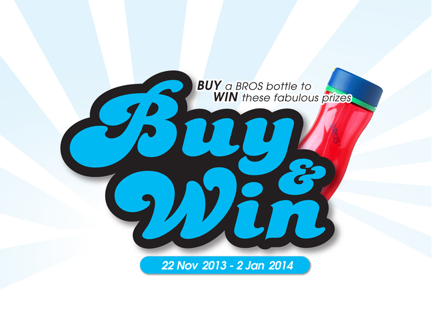 BROS Events- BROS Buy & Win Contest