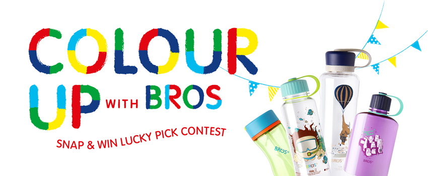 BROS Events- Colour Up With BROS Snap & Win Lucky Pick Winner Announcement