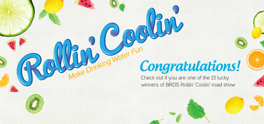 BROS Events- BROS Rollin' Coolin' Winner Announcement