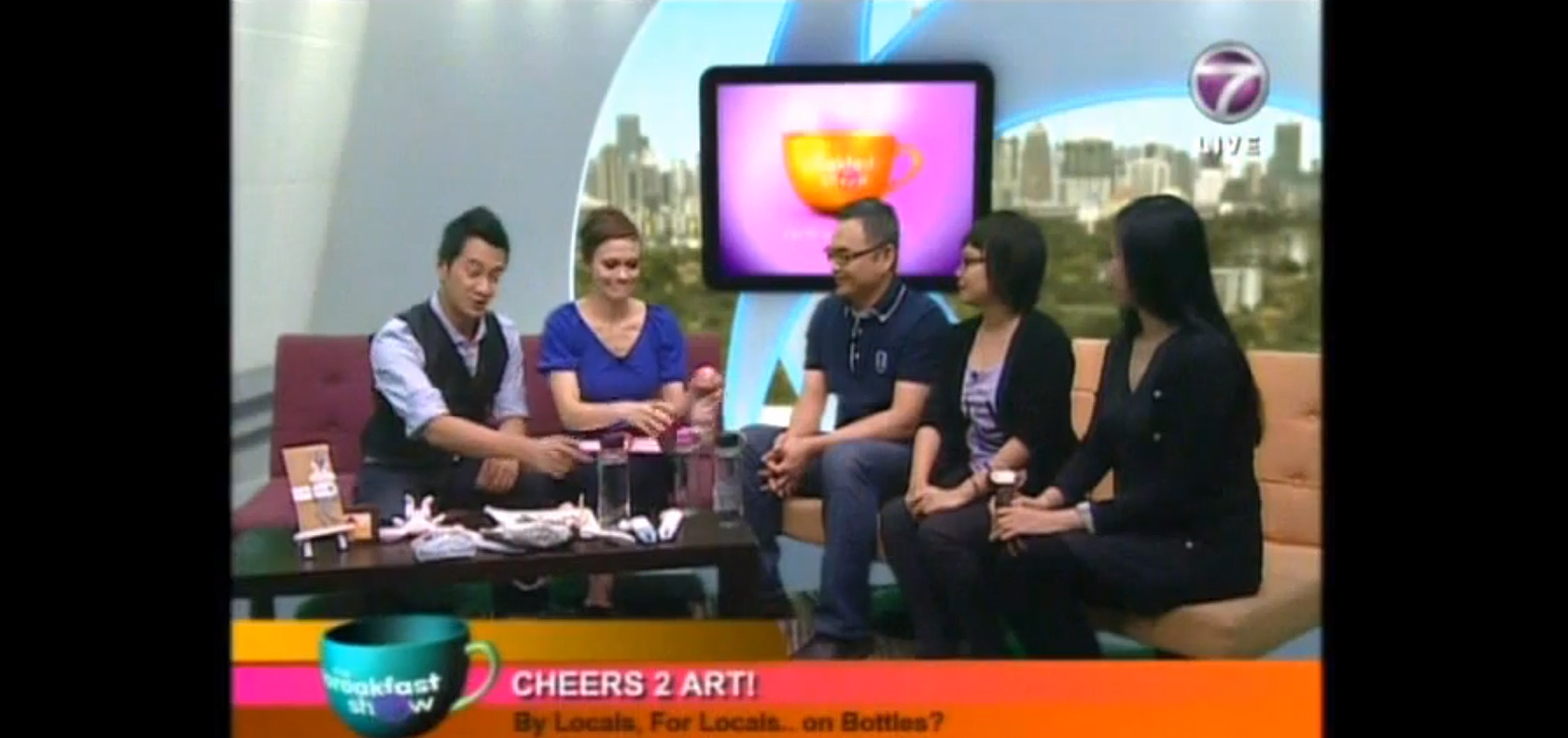 20160722_HIGHLIGHT_NEWS_BANNER_NTV7 THE BREAKFAST SHOW_BROS CHEERS 2 ART